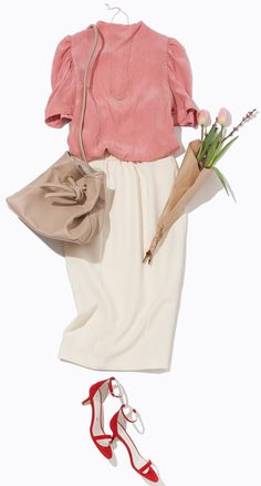 とろみトップスで美顔効果を狙う! ルミネの春トレンドテーマ「Modern Japonism」の主役カラー「ホワイト」を使って、新鮮コーデに挑戦。人気スタイリスト川上さやかさんがルミネ大宮のショップからレッスンします!