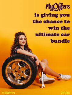 MyOffers is giving you the chance to win the ultimate car bundle (including a car tool kit, a high pressure washer, a trolley jack and axle stands). UK Only - Win A Car Competition, Free Car Insurance, Car Competitions, Free Cars, Tool Kit, Washer