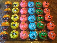 diy yo gabba gabba | Yo Gabba Gabba party supplies - December 2009 Birth Club - BabyCenter