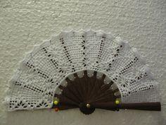 As Receitas de Crochê: Leques feitos em crochê                                                                                                                                                                                 Mais