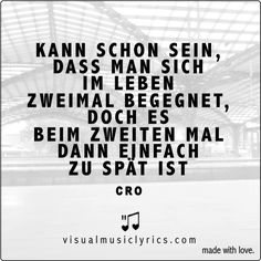 CRO BYE BYE - visualmusiclyrics.com