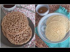 Baghrir à la semoule et la farine complète