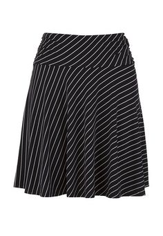 striped pull on skirt $24.00