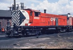 RailPictures.Net Photo: CP 8003 Canadian Pacific Railway Baldwin DS4-4-1000 at Vancouver, British Columbia, Canada by Steve Schmollinger