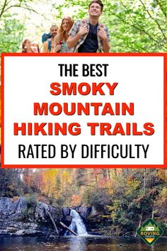 Smoky Mountain Trails, Smoky Mountains Hiking, Smoky Mountain National Park, Mountain Hiking, Great Smoky Mountains, Smokey Mountain, Gatlinburg Vacation, Tennessee Vacation, Gatlinburg Tennessee