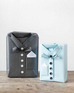 DIY gift wrapping by Søstrene Grene