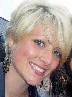 My short blonde hair-do.