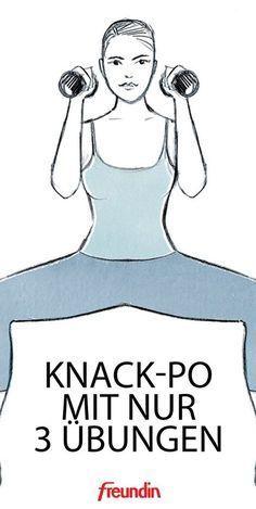 Knack-Po mit 3 Übungen