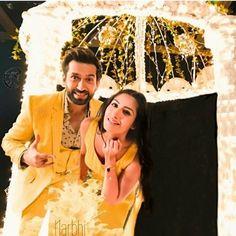 Yellow is love❤❤❤ Romantic Couples, Most Romantic, Cute Couples, Wedding Couple Photos, Wedding Couples, Tv Actors, Actors & Actresses, Nakul Mehta, Game Of Love