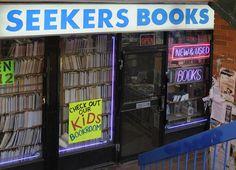 Seekers Books, 509 Bloor Street West, Toronto.