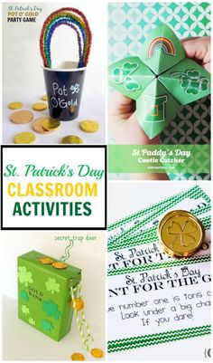 Great Collection Of St Patrick S Day Clroom Ideas To Keep The Kids Busy And Having