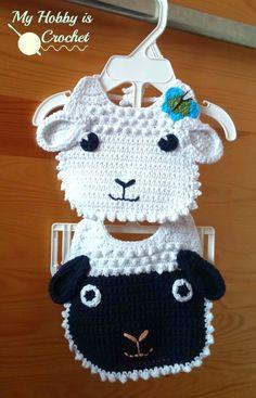 Самым лучшим подарком для новорожденного будет мягкий вязаный слюнявчик в виде овечки. Заходите на сайт Handcraft Studio будем вязать вместе! Схема вязания нагрудника выложена в данном посте.