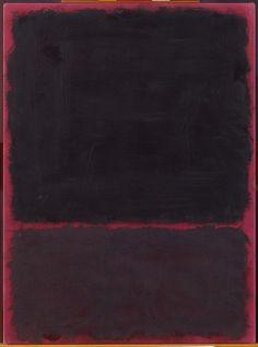 artpedia:    Mark Rothko -Untitled,1967. Acrylic on paper mounted on masonite.