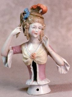 Antique Half Dolls