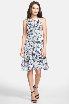 wallis Daisy Print Fit & Flare Dress by WALLIS on @nordstrom_rack