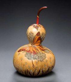Marilyn Sunderland Sculpts Gourds into Vegetable Art trendhunter.com
