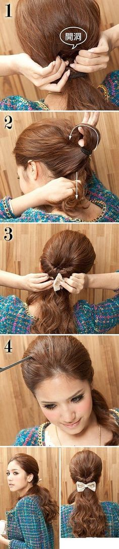Simple & casual hairstyle #hair #pictorial