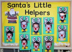 kindergarten winter bulletin board ideas | Learn Curriculum: Christmas Bulletin Board Idea