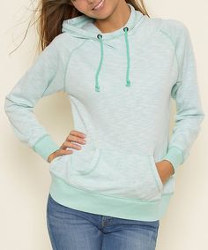 Loving this Sea Glass Scuba Hoodie on #zulily! #zulilyfinds