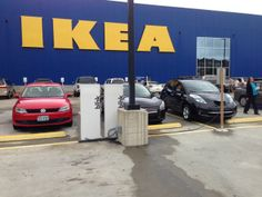 IKEA offers EV charging on site