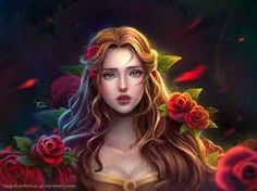 Princess Belle from Beauty and the Beast. Belle: Beauty And The Beast Disney Princess Art, Disney Fan Art, Disney Love, Bella Disney, Cinderella Princess, Walt Disney, Disney Magic, Disney Animation, Disney And Dreamworks