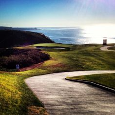 Torrey Pines Golf Course. 3rd hole on the north course.