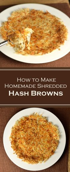 How to Make Homemade Shredded Hash Browns - Recipe via Fox Valley Foodie tasty dinner vegitarian dinner recipes pilsbury recipes dinner hashbrown recipes dinner Crockpot Breakfast Casserole, Potatoe Casserole Recipes, Hashbrown Breakfast Casserole, Potato Casserole, Potato Soup, Potato Recipes, Shredded Hashbrown Recipes, Homemade Hashbrown Recipes, Brunch Recipes