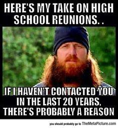 High School Reunions