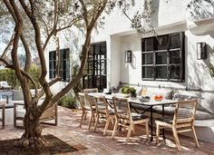 A Creative Power Couple's Spanish-Colonial Retreat in L.A. Photos | Architectural Digest