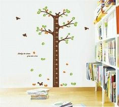 Tema 2 - Semana 8 - maternal Régua do crescimento Amazon.com: BUYINHOUSE Large Tree Height Measurement Growth Chart with Quote Wall Sticker Decal for Kids Room Measures 150cm or 5 Feet: Baby...
