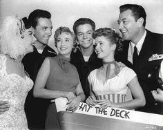 Hit the Deck Golden Age Of Hollywood, Hollywood Stars, Classic Hollywood, Old Hollywood, Russ Tamblyn, Vic Damone, Kathryn Grayson, Deanna Durbin, Jane Powell