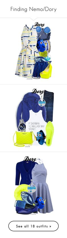 """Finding Nemo/Dory"" by amarie104 ❤ liked on Polyvore featuring Me to We, Surratt, Kate Spade, OPI, STELLA McCARTNEY, La Preciosa, rag & bone, J.Crew, Sperry and Rebecca Minkoff"