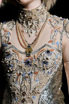 Embellished bodice, Haute Couture ;)