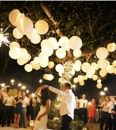 Love the lanterns . Definitely thinking outside wedding reception! Absolutely love the idea of an outside wedding! Perfect Wedding, Our Wedding, Dream Wedding, Hotel Wedding, Wedding Engagement, Party Wedding, Trendy Wedding, Reception Party, Wedding Ceremony