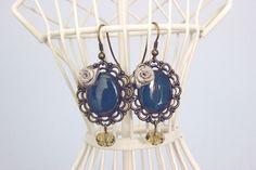 $16.99 Risso 1561 — Sea earrings