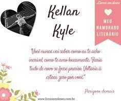 Meu namorado literário é Kellan Kyle!!! E o seu? #meunamoradoliterario #livrosemdoses #diadosnamorados