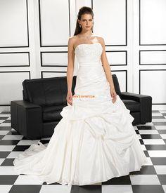 Princesse Sans bretelles Brillant & Séduisant Robes de mariée 2014