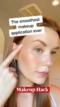 Eye Makeup Art, Airbrush Makeup, Makeup Tips, Makeup Hacks, Makeup Tutorials, Makeup Ideas, Natural Makeup, Natural Skin Care, Korean Beauty Tips
