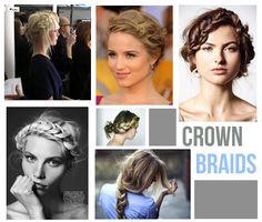 Crown braids #hair