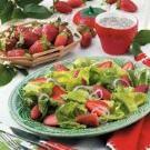 Finally, I post a food that isn't a sweet! Strawberry Romaine Salad  tasteofhome.com