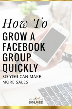 Awesome advice on How to Grow a Facebook Group Quickly so you can make more… #entrepreneur #startup #onlinebusiness