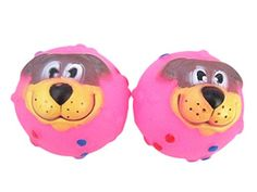 BlytieerRubber Soft Plastic Dog Balls Dog Toy Balls for Dogs Tooth CleaningRosy -- See this great product.