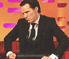 (gif) Omg! This is so cute! This Graham Norton interview was amazing!