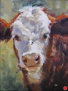 Summertime von Daria Shachmut Oil ~ 14 x 11 – Zoo Chicken Painting, Cow Painting, Farm Paintings, Animal Paintings, Paint Your Pet, Farmhouse Wall Art, Farm Art, Cow Art, Pastel Art