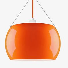 Momo Pendant Lamp - Orange - alt_image_one Ceiling Canopy, Ceiling Lights, Trendy Home, Lampshades, Pendant Lamp, Home And Living, Home Accessories, Bulb