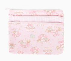 My Melody Triple Zip Pouch: Pretty Collection