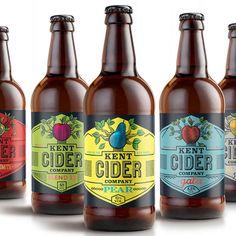Kent Cider Company Redesign.