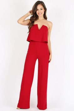 12f8154bbd46 The Aislynn Jumpsuit. Red JumpsuitEntourageProm IdeasCatsuitFall OutfitsOne  PieceBlousesParty DressRompers