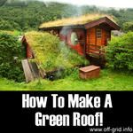 How To Make A Green Roof!
