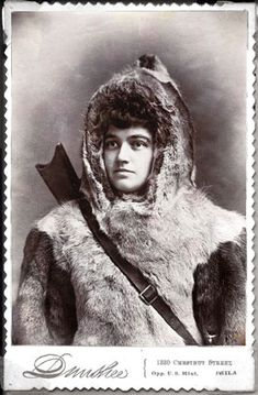 """FIRST WOMAN ARCTIC EXPLORER: Josephine Peary, wife of Robert Peary, was a First Lady of the Arctic, """"Mother of the Snow Baby,"""" and a veteran of half a dozen polar expeditions who'd outlived her husband by three decades."""